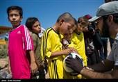 اردوی جهادی گروه وارثین در کوره های آجرپزی