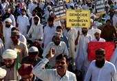 مسلمو بنغلادش یطالبون بإعلان الحرب على میانمار