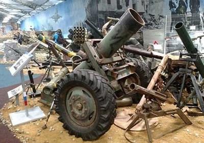 نمایشگاه تسلیحات «داعش» در مسکو