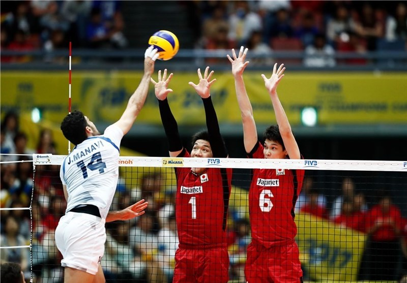 Iran Beats Japan at FIVB World Grand Champions Cup