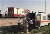 درمان دانشآموزان حادثه تصادف در تنگارم دشتستان
