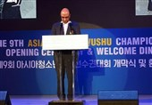 افتتاح رقابتهای ووشوی قهرمانی آسیا با سخنرانی علینژاد