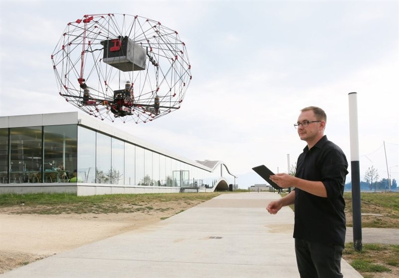 A Drone for Last-Centimeter Delivery