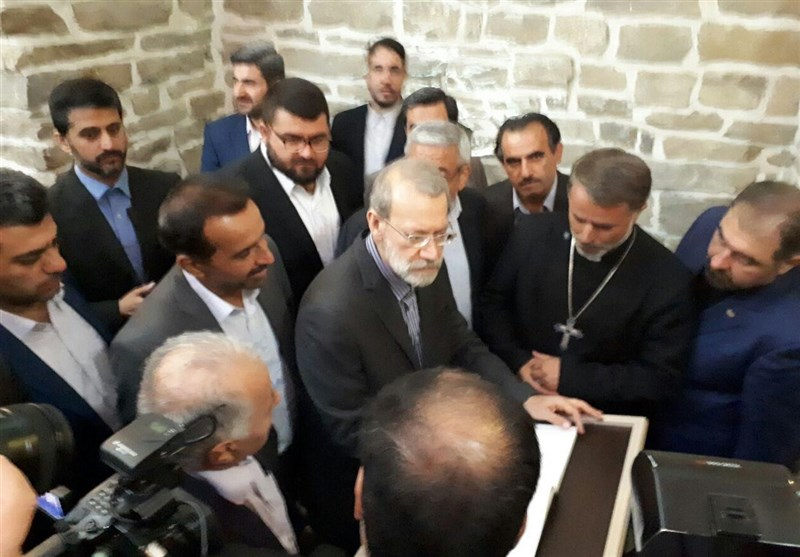 Iran Has Talked with Syria over Woes of Christians, Larijani Says