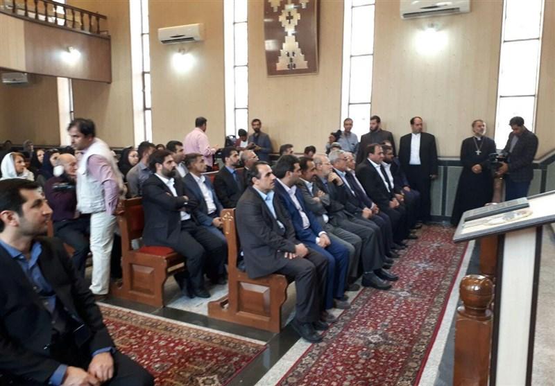 رئیس مجلس از کلیسای تاریخی ننه مریم ارومیه بازدید کرد