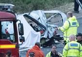 واژگونی یک کامیون و کشته شدن 4 مسافر+فیلم و عکس