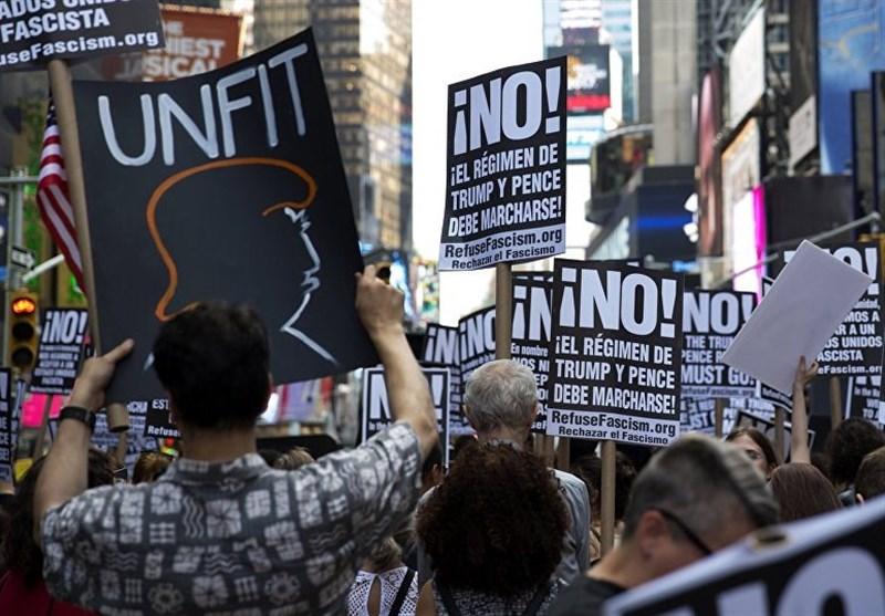 تظاهرات واشنگتن