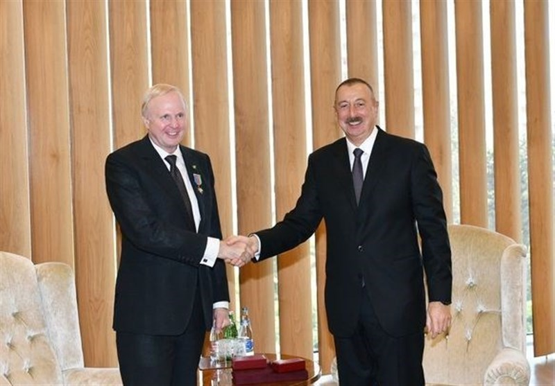 دیدار مدیر بی پی با الهام علی اف در باکو