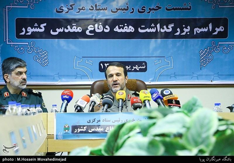 نشست خبری سردار بهمن کارگر