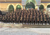 اجراهای جدید گروه همخوانی محمد رسولالله (ص) در کشور عراق + فیلم و تصاویر