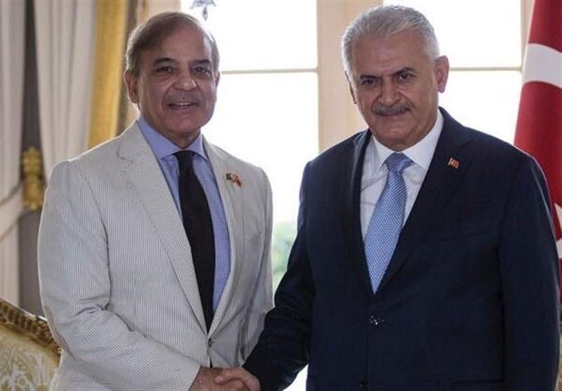شهباز شریف و بن علی یلدرم