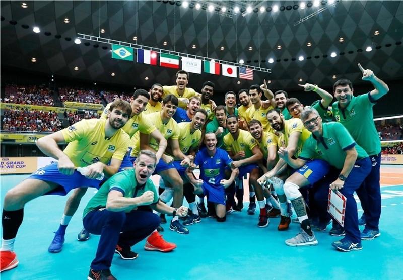رده بندی نهایی والیبال جام قهرمانان بزرگ/ ایران با یک باخت در رده سوم ایستاد