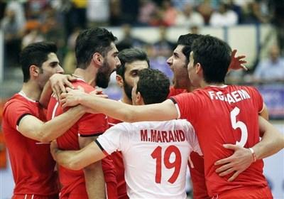 اولین برد والیبال ایران مقابل فرانسه