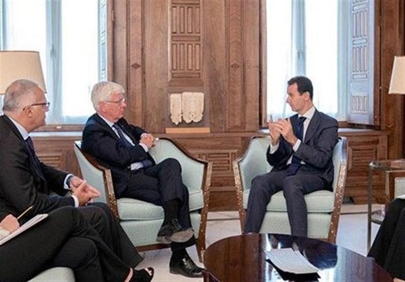 اسد: برخی از دولتهای غربی همچنان از تروریسم حمایت میکنند