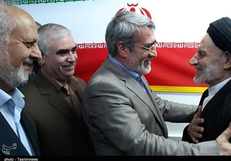 سفر وزیر کشور به خراسان جنوبی به روایت تصویر