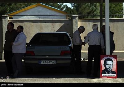 استقبال از پیکر 4 شهید دوران دفاع مقدس - مشهد
