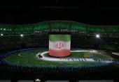 برگزاری مراسم افتتاحیه در حد المپیک!/ کاروان شهید حججی با پرچمداری خادمالشریعه رژه رفت + حواشی و تصاویر
