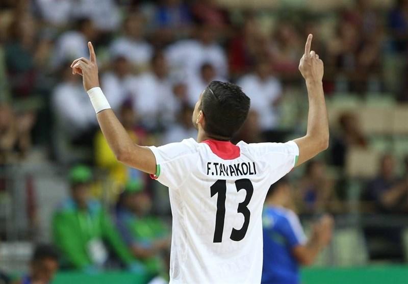 Iran's Tavakoli Wins AFC Futsal Championship Goal of the Tournament