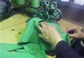 کارگاه دوخت لباس شیرخوارگان حسینی در کرمان