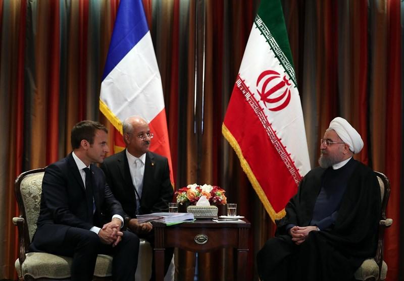 Ruhani Ve Macron Nükleer Anlaşmayı Görüştü