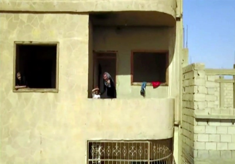 دیرالزور کے آزاد شدہ علاقوں کی فضا سے لی گئی ویڈیو
