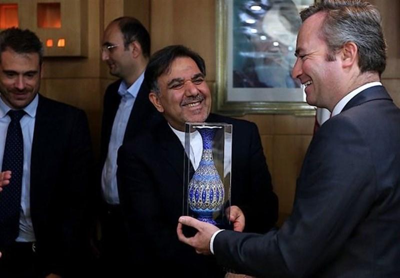 وزیر الطرق یعلن عن مقترح فرنسی لمنح ایران ائتمان بقیمة 70 ملیون یورو
