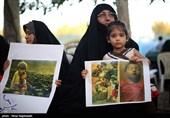 تجمع اعتراضی جمعی از مادران وکودکان مشهدی