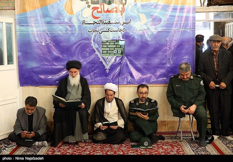 تشییع آیت الله معصومی در مشهد