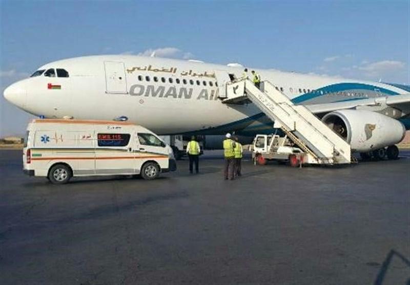 """فرودگاه ایلام بیمار اورژانسی پرواز """"عمان ـ انگلیس"""" را در تبریز مجبور به ..."""