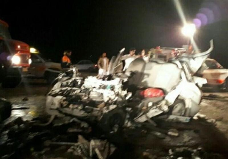 حادثه رانندگی در محور داراب - بندرعباس 4 کشته برجای گذاشت