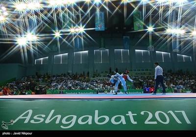 مسابقات تکواندو داخل سالن آسیا - ترکمنستان