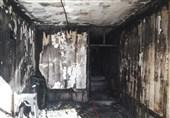 فردی بیمار مطب یکی از پزشکان در شیراز را آتش کشید