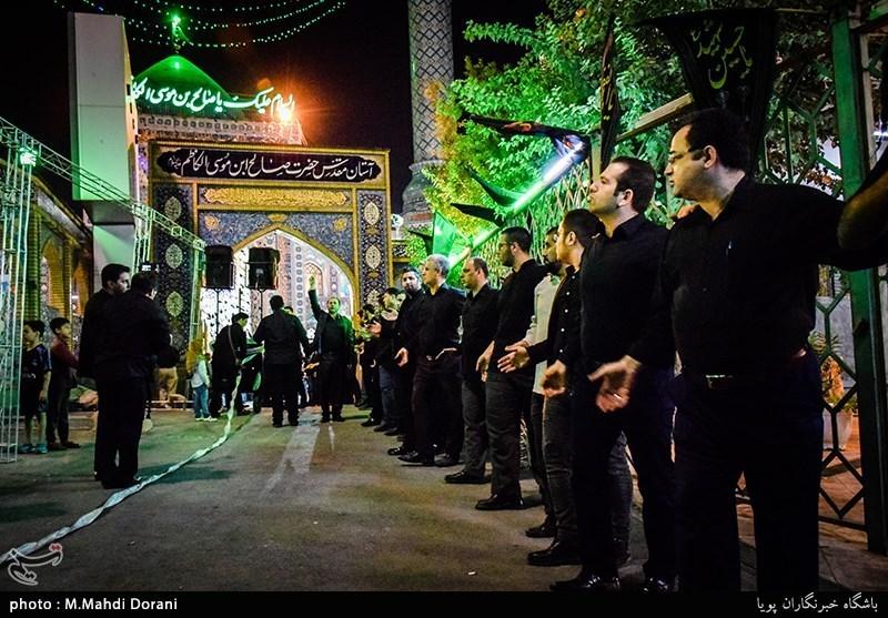 إیران الإسلامیة تبدأ إحیاء مراسم عزاء سید الشهداء الامام الحسین (علیه السلام)