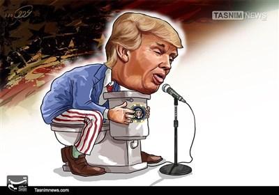کاریکاتور/ سخنرانی نفرتانگیز ترامپ در سازمانملل