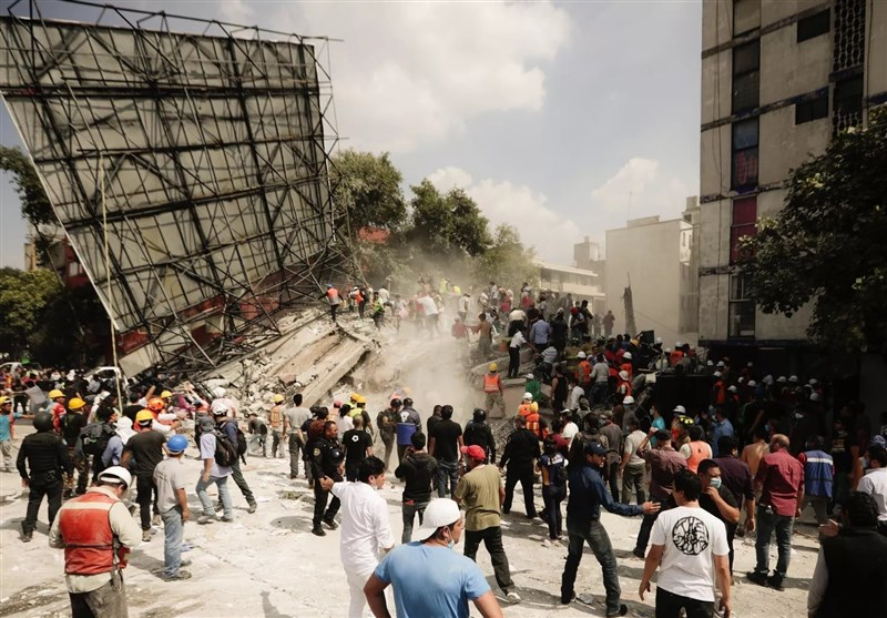 Iran Sympathizes with Mexico Quake Victims
