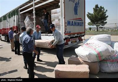 إرسال حمولة اخرى من المساعدات الإیرانیة لمسلمی المیانمار