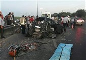 تصادف مرگبار در جاده ورامین