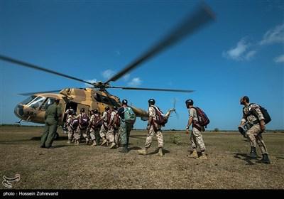 دورة تدریبیة للهبوط بالمضلات لدى قوات صابرین الخاصة