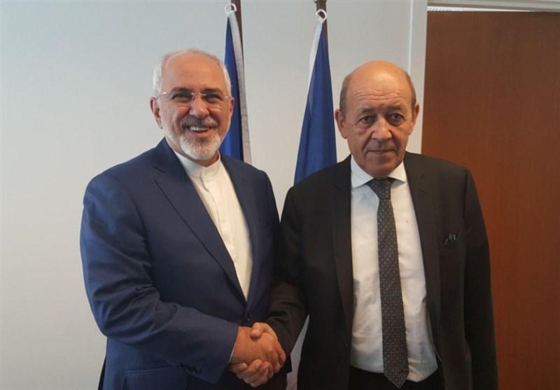 وزرای خارجه ایران و فرانسه تلفنی گفتگو کردند
