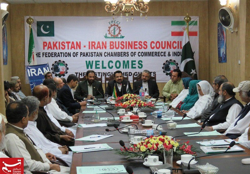 """پاک ایران تجارت بڑھانے کے لئے """"ایف پی سی سی آئی"""" کا ساتواں اجلاس + تصاویر"""
