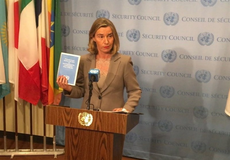 JCPOA 'Delivering', EU's Mogherini Says