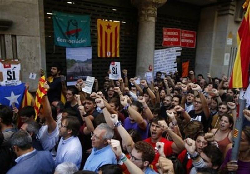 همه پرسی کاتالونیا نشان داد که غرب نگاه یکسانی به حق تعیین سرنوشت ندارد