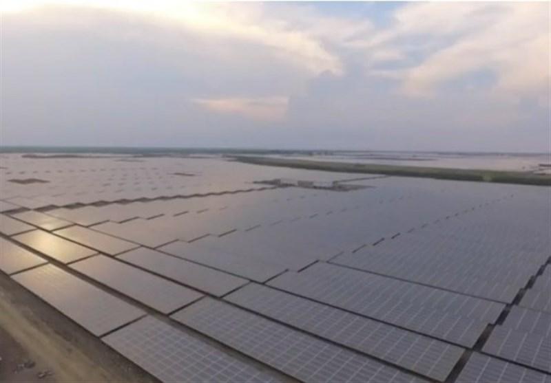 نخستین نیروگاه خورشیدی هیبریدی در مازندران افتتاح شد