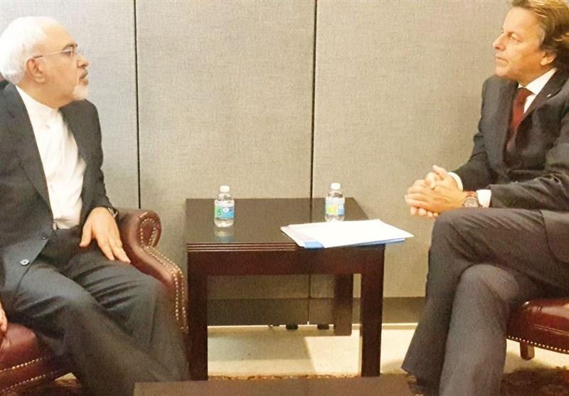 ظریف و وزیر خارجه هلند