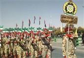 رژه نیروهای مسلح به مناسبت هفته دفاع مقدس در اصفهان برگزار میشود