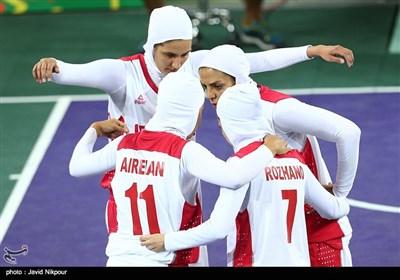 مسابقات بسکتبال سه نفره بازیهای داخل سالن آسیا - ترکمنستان