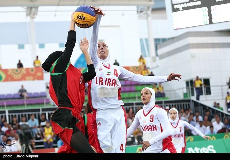 بسکتبال سه نفره کاپ آسیا| تیم دختران زیر 18 سال ایران به نیمهنهایی نرسید