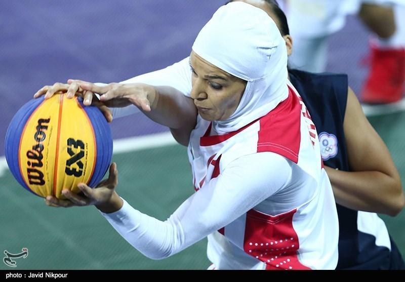 مسابقات آزاد بسکتبال سه نفره| تیم بانوان ایران به ترکمنستان باخت