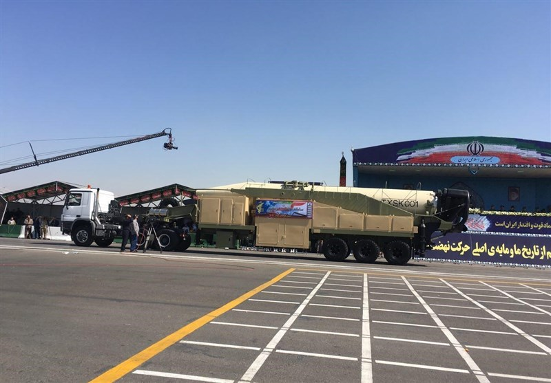 Iran unveils its new long-range ballistic missile
