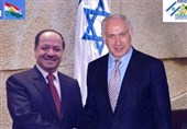 بارزانی نتانیاهو اسرائیل